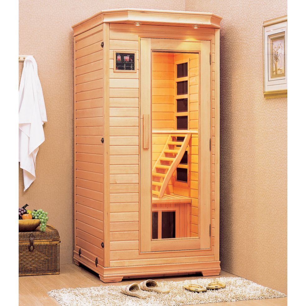 lahti sauna ljus 1 person. Black Bedroom Furniture Sets. Home Design Ideas