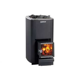Woodburning stove Harvia M3 SL, 16,5kW (outside fi