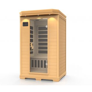 Ideal sauna ljus, 2 personer