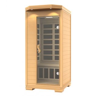 Lahti sauna ljus, 1 person