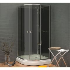 WATERLUX RUND 90x90 GREY